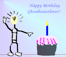 Happy B-Day, Ghostbusterlover by mouselady