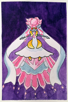 Prize for MintyMagic74 - Watercolor Card by ColaChu