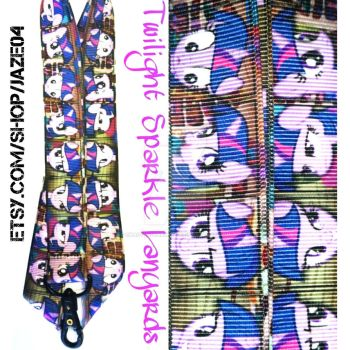 Twilight Sparkle Lanyards by cha0tyk-harm0nye