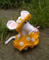 Miss Mouse Crochet / Amigurumi by RuthNorbury