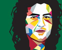 Jimmy Page in WPAP by vector10