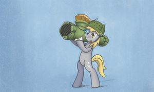 Muffin Cannon by Revealdance19