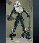 Wow Black Cat by mangrowing