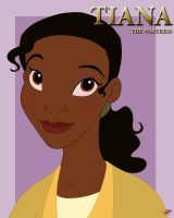 Tiana...the waitress by Spiritwollf