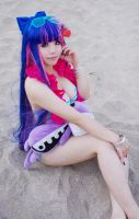 Panty Stocking Garterbelt - Stocking Swim suit by rolan666