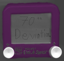 Purple Etch-a-Sketch -70th- by YoshiOG1
