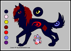 Aoi_the_Wolf by HeartLessWolfGirl