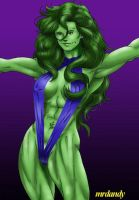 She-Hulk by GaraKan