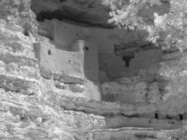 Montezuma's Castle Infrared by Lugal