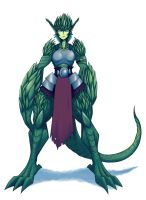 monster girls - 15 reptile girl by dragonmanX