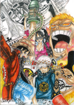 One piece Manga cover of volume 70 by NeoAngeliqueAbyss