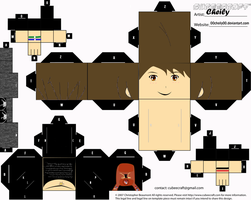 cubeecraft of myself by 00cheily00