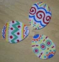 Easter eggs brooch by 402ShionS3