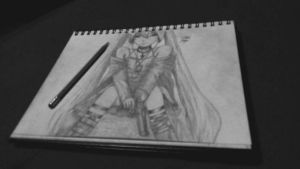 hatsune miku drawing by Xezn