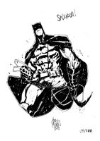 Sketchbook Sketch 2013: Batman! by alessandromicelli