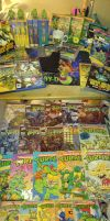My TMNT collection by Amandaxter