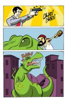 Dinosaur Eats People Page 16 by MontyRohde