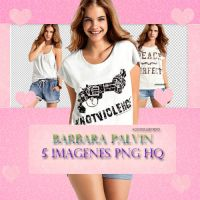 Pack PNG Barbara Palvin (5 PNG) by AgostenaTenaEditions