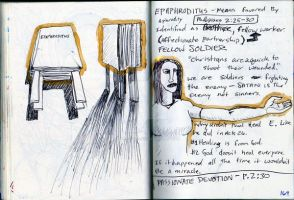 book idea in my journal by theartproject