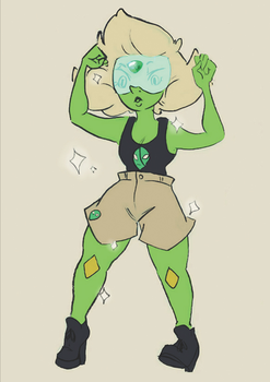 Lil' Peri by madiecookie