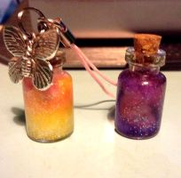 Mini Bottles/ Magic Inside by Xapy