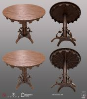 Halloween Bone Table - PSHome by Denuvyer