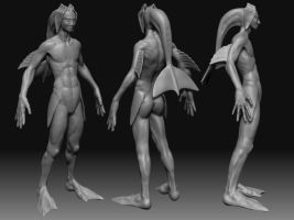 Raheem Zbrush model by maccollo