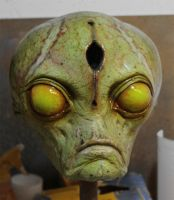 Alien head by glaucolonghi