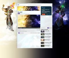 Twitch layout - Fevers by Aryiana-dzyn