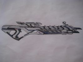 Quarian Sniper Rifle Concept by ME2FTW