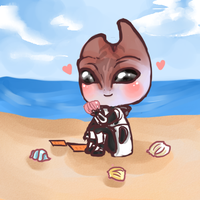 Seashells to study-ME by Tsukahime