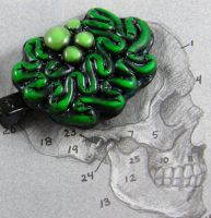Show your Zombie Brains by NeverlandJewelry
