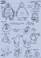 Model Sheet - Captain Worbian by TopperHay