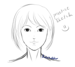 practice sketch (with improvement?) by roleholder