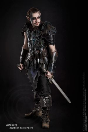 Photoshoo 2013 : Druchii male Armor by Deakath