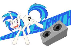 Vinyl Scratch by Janji009