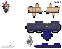 Yami Yugi - Page 1 of 2 by cubeecraft
