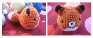 - Amigurumi Fox - by awkwardsoul