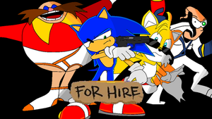 Sonic For Hire-What'u gonna do? by groovykid2000