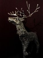 Stag Sculpture wip update5 by braindeadmystuff