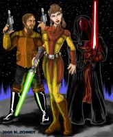 Knights of the Old Republic by Spacegryphon