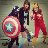Your Heroes: Female Avengers by PWheartgal