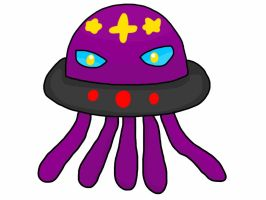 Alieish, UFO Jellyfish Fakemon (sometimes an adopt by K-Egg