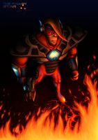 -Hardlight Towards the Fire- by Lurking-Leanne