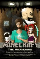 Minecraft: The Awakening - Cover Page by TwilitAngel