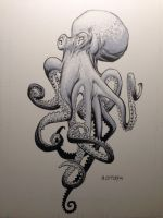 Octopus by RyanOttley