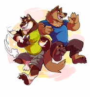 Bouncing Buddies by super-tuler