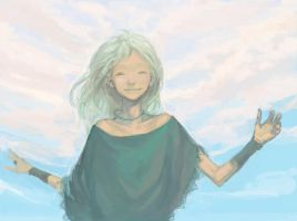 Summer sky2 by sweetmoon