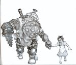Hold my hand Mr.Bubbles! (Bioshock) by Flaregun101