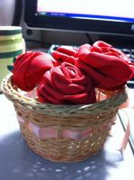 Handmade Roses. by Yumikerr